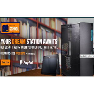 Get $25 off $200+ When You Check Out with PayPal At Newegg