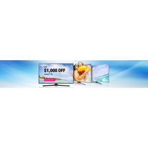 Get $1000 Off On Select TVs(newegg)