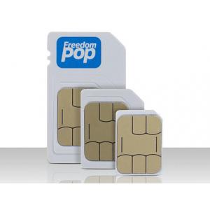 100% Free Mobile Phone Service w/ Global 3-in-1 SIM Card Kit
