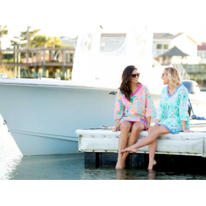 Personalized & Monogrammed Cotton Tunics in 4 Prints At $34.99