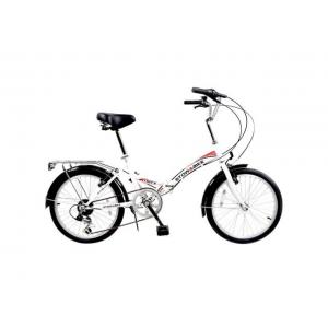 Stowabike 20 Folding City V2 Compact Foldable Bike  6 Speed - White At $129.99(newegg)
