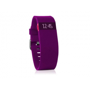 Fitbit Charge HR WristBand Plum Large At $118.99(newegg)