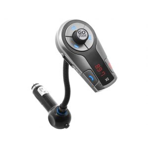 GOgroove FlexSMART X2 Bluetooth In-Car FM Transmitter with USB Charging , Multipoint Pairing & Hands-Free Calling - Works with Apple , Samsung , LG & More Smartphones , Tablets , MP3 Players At $34.99(newegg)