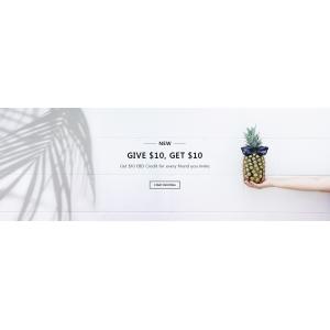 GIVE $10 GET $10 EBD credit for Everu Friend You Invite