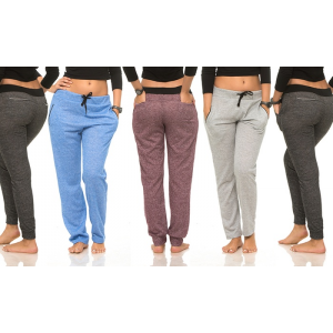 Women's Color-Contrast Joggers (5-Pack) At $34.99