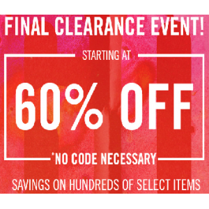 Final Clearance Event : Get Upto 60% Off on Apparel(JimmyJazz)