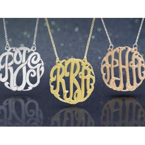 Buy Monogram Sterling Necklace Just At  $25.99(LivingSocial)