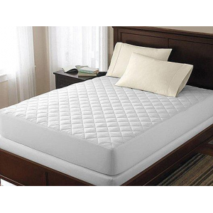Hypoallergenic Quilted Waterproof Mattress Pad At $29.99(living social)