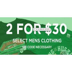 Buy Any 2 Tees Just AT $30(JimmyJazz)