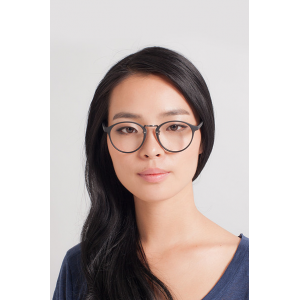 CHILLAX Matte Black/Gunmetal Eyeglasses FRAME PRICE: $15(Eyebuydirect)