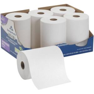 Get Georgia Pacific Professional Series Premium Hardwound White Towel Rolls, 6 count At $19.87(Walmart)