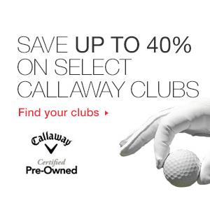 Save Upto 40% Off on Select Call Away Clubs At Ebay