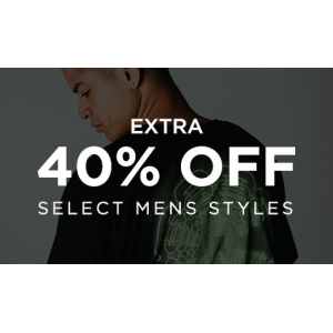 Get Extra 40% Off on Men's Styles Feat At JimmyJazz