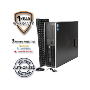 HP Desktop Computer 6200 Pro Intel Core i5 2nd Gen 2400 (3.10 GHz) 8 GB DDR3 1 TB HDD Intel HD Graphics 2000 Windows 7 Professional 64-Bit At  $264.99