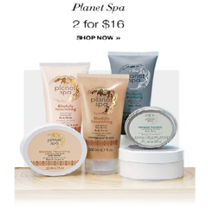 Planet Spa - 2 for $16 At Avon