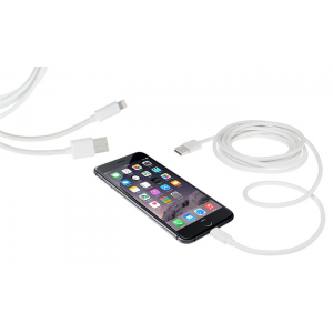 10ft. Apple-Certified Lightning Cable (1- 2- or 3-Pack) At $9.99(groupon)