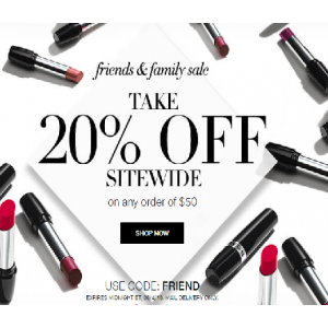 Take 20% Off Sitewide on Any Order of $50 At Avon