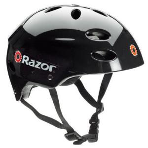 Grab Razor V17 Youth Helmet, Gloss Black At $15.58(Walmart)