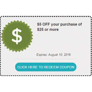 Get $5 OFF your purchase of $25 or more At FragranceNet