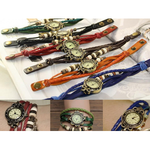 Bohemian Charm Fashion Bracelet Watch - 6 colors At $9.99(living social)