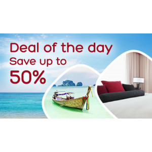 Deal Of The Day : Save Upto 50% Off on Hotels