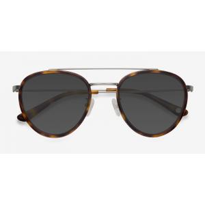 BROOKLINE Tortoise Sunglasses FRAME PRICE: $55