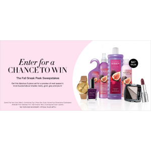Enter For A Chance To Win The Fall Sneak Peek Sweepstakes At Avon
