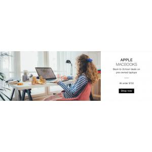 Grab Apple MacBooks under $750 At Ebay