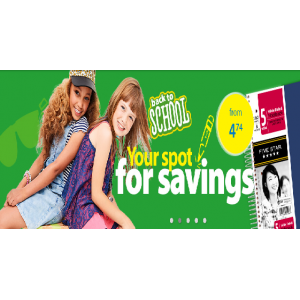 Back to School : Your Spot For Saving At Walmart