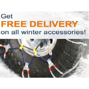 Get Free Delivery on All Winter Accessories At Tirebuyer