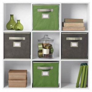 Martha Stewart Living 9-CUBE ORGANIZER At $50.00 (homedecorators)