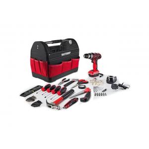 Mastergrip 44 Pcs Tool Set with Lithium Ion Cordless Drill and Tool Bag At $54.99(newegg)