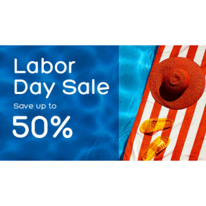 Labor Day Sale : Save Upto 50% Off on Any Trip For Vacation At Hotels.com