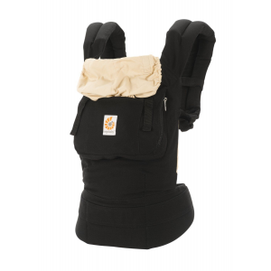 Buy Ergobaby Original 3 Position Baby Carrier Black Camel with Infant Insert At $65(Ebay)