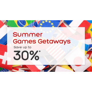 Summer Games Getaways : Save Upto 30% Off At Hotels.com