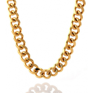 King-ice 14K Gold Miami Cuban Curb Chain At $60.00 (jimmy jazz)