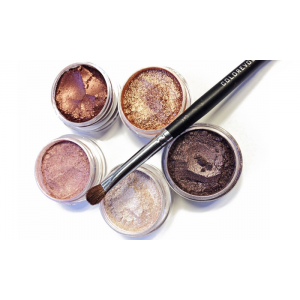 Colorevolution Warm and Shimmery Mineral Eyeshadow Collection At $14.97