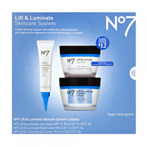 Flat 25% off on Boots No 7 Lift & Luminate At SkinStore