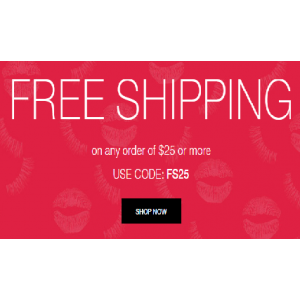 Free Shipping on Any Order Of $25 & More At Avon