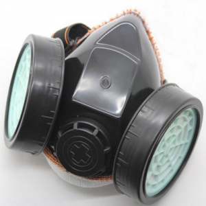 Respirator Gas Mask Anti-Dust Filter Paint Goggle Set Industrial Chemical Safety At $3.55(Ebay)