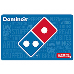 Domino's Pizza $20 Gift Card (Email Delivery) $20.00