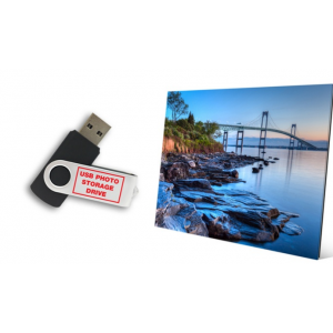 $24 for Glass Prints with Free 8GB USB Photo Drive from ImageToGlass.com ($169.90 Value)