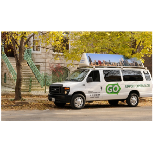 Up to 47% Off One-Way Transportation to or from Midway or O'Hare from GO Airport Express