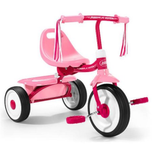 Get Radio Flyer Fold 2 Go Tricycle Pink At $65.33 (Walmart)