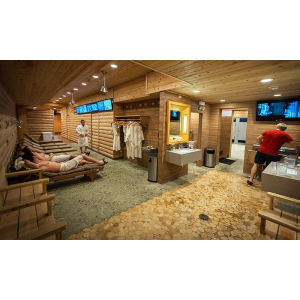 Men's Russian Banya Admission for One at Red Square  At $16 (group on)