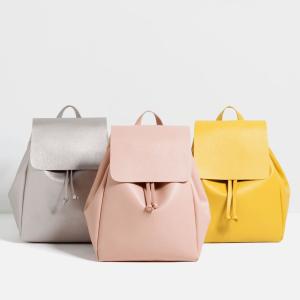 ZARA Women Backpack with Foldover Flap At $49.99(ebay)