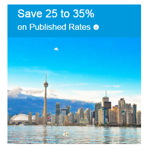 Save 25% to 35%  on Published Rates Hotels At CheapOair