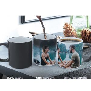Magic Photo Reveal Mug or White Photo Mug At $7.49