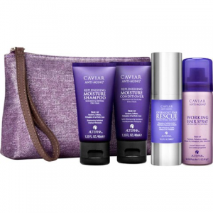 ALTERNA CAVIAR MOISTURE 'BEAUTY TO GO' TRAVEL BAG AT $28.00