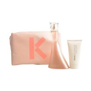 Get Kenzo Jeu d'Amour Eau De Parfum Spray 3.4 oz & Creamy Milk 1.7 oz & Pouch At $48.99(FragranceNet.com)